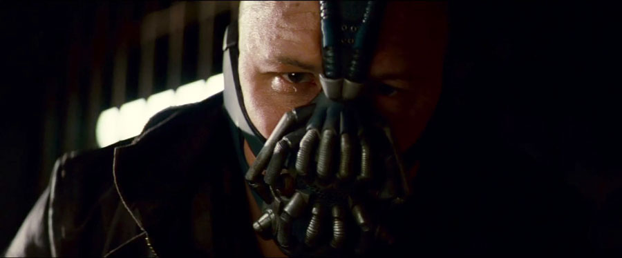 Tom Hardy, Bane, The Dark Knight Rise