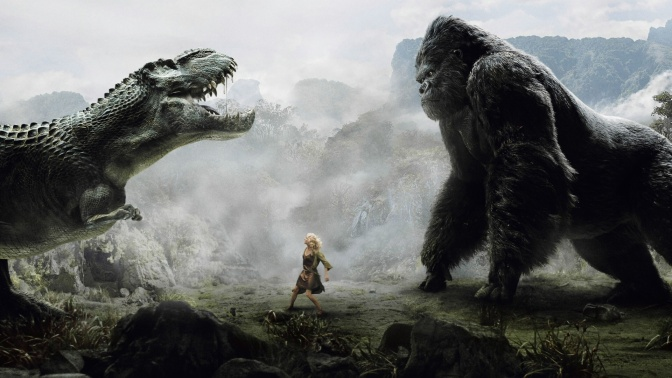 "My Favorite Scene: King Kong (2005) ""Kong vs. T-Rexes"""