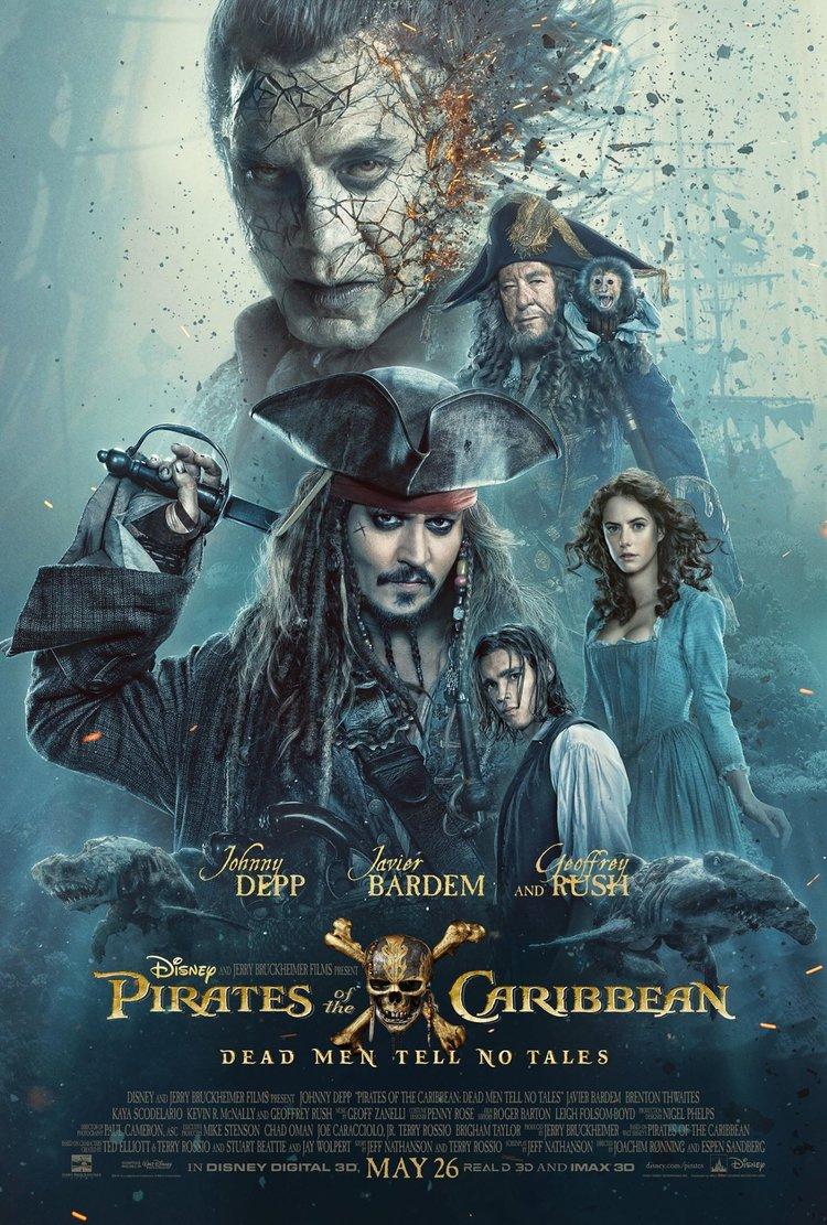 Pirates of the Caribbean: Dead Men Tell No Tells, Jack Sparrow, Johnny Depp
