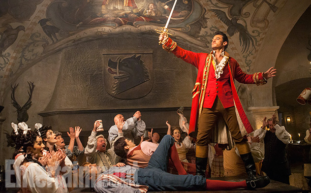 Gaston, Luke Evans, Beauty and the Beast