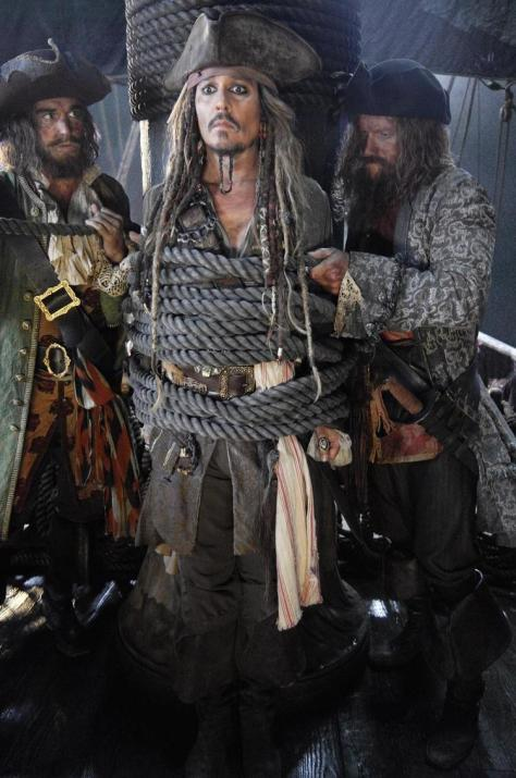 Pirates of the Carribean: Dead Men Tell No Tales, Jack Sparrow, Johnny Depp