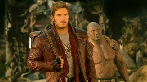 Guardians of the Galaxy Vol. 2, Drax, Star Lord, Chris Pratt, Dave Bautista