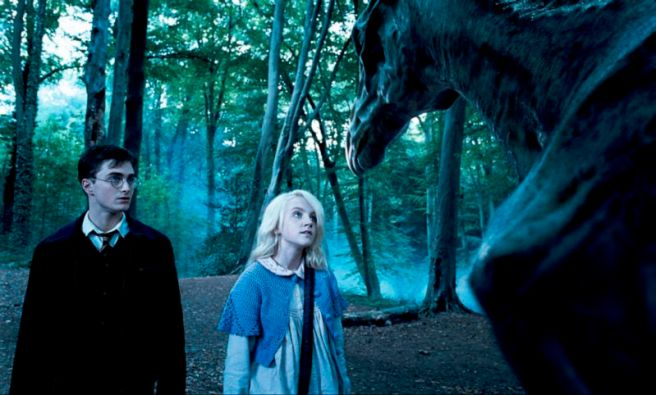Evanna Lynch, Luna Lovegood, Thestrals, Harry Potter, Daniel Radcliffe, Harry Potter and the Order of the Phoenix