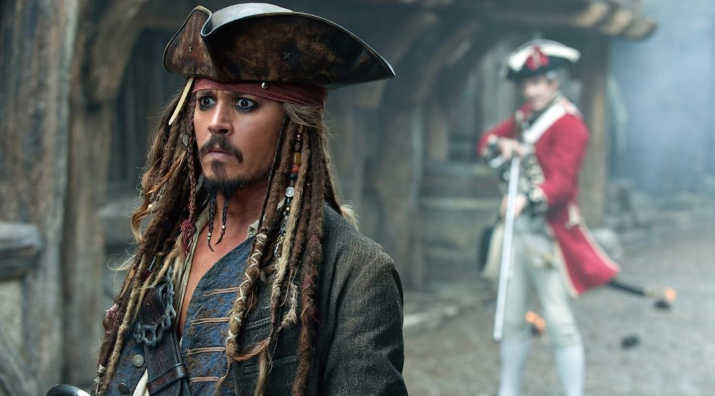 Pirates of the Caribbean: Dead Men Tell No Tales, Jack Sparrow, Johnny Depp