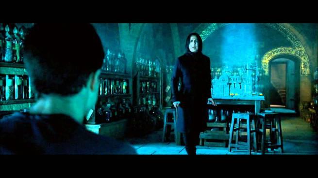 Severus Snape, Harry Potter, Alan Rickman, Daniel Radcliffe, Harry Potter and the Order of the Phoenix