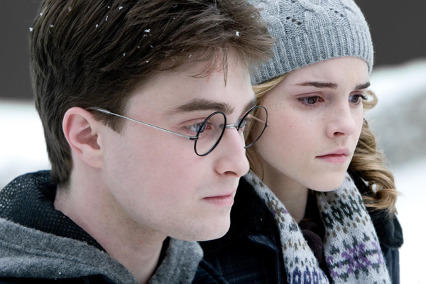 Daniel Radcliffe, Emma Watson, Harry Potter, Hermione Granger, Harry Potter and the Half-Blood Prince