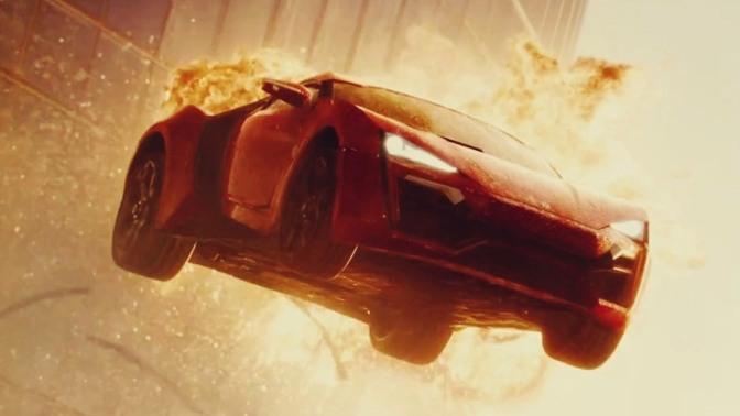 "My Favorite Scene: Furious 7 (2015) ""Abu Dhabi Auto Acrobatics"""