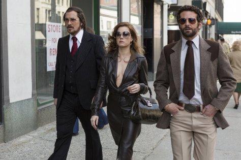 Christian Bale, Amy Adams, Bradley Cooper, American Hustle
