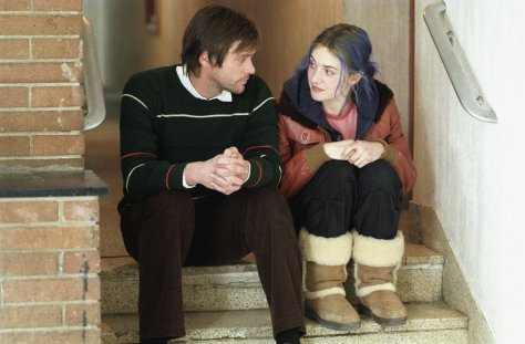 Eternal Sunshine of the Spotless Mind, Kate Winslet, Jim Carrey