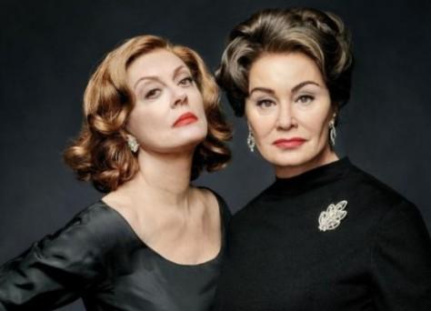 Feud, Jessica Lange, Joan Crawford, Susan Sarandon, Bette Davis