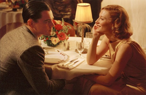 Leonardio DiCaprio, Howard Hughes, Katherine Hepburn, Cate Blanchett, The Aviator