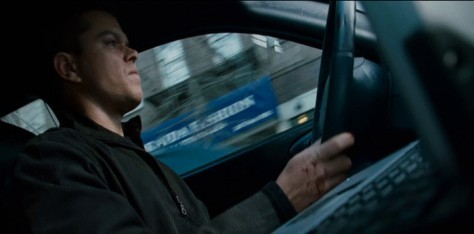 Jason Bourne, Matt Damon, The Bourne Supremacy