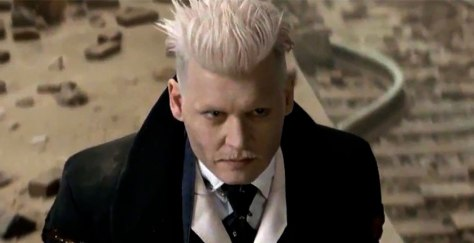 Johnny Depp in Fantastic Beasts and Where to Find Them