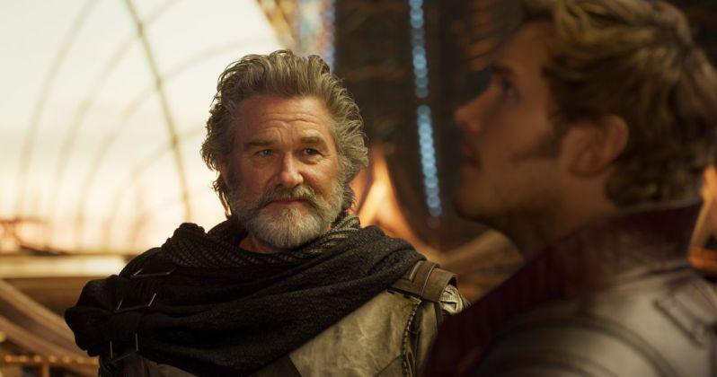 Guardians of the Galaxy Vol. 2, Ego, Star Lord, Chris Pratt, Kurt Russell