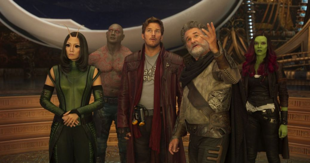 Guardians of the Galaxy Vol. 2, Kurt Russell, Ego, Star Lord, Chris Pratt, Drax, Dave Bautista, Mantis