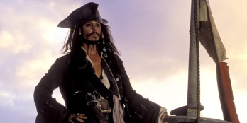 Johnny Depp, Captain Jack Sparrow, Pirates of the Caribbean: The Curse of the Black Pearl