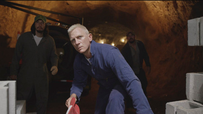 Daniel Craig in Logan Lucky