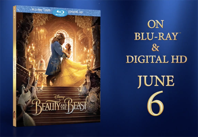 Beauty and the Beast Blu Ray Special Features and Release Date Details!!!