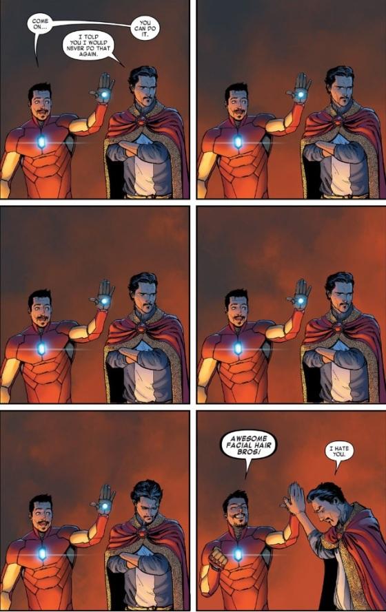 Doctor Strange, Stephen Strange, Tony Stark, Iron Man, Marvel Comics