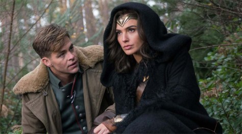 Chris Pine, Steve Trevor, Wonder Woman, Gal Gadot