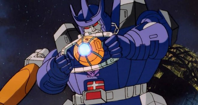 Galvatron (Leonard Nimoy) in Transformers: The Movie