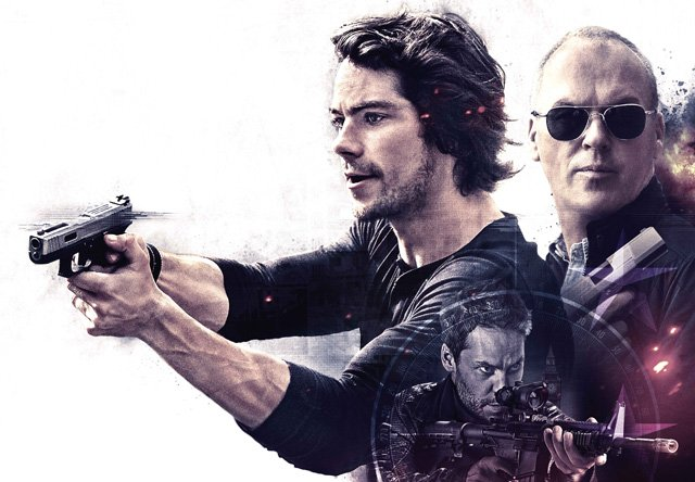 Michael Keaton and Dylan O'Brien in American Assassin