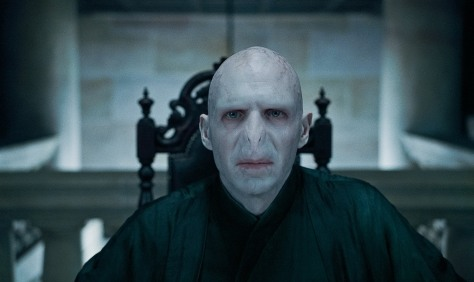 Ralph Fiennes in Harry Potter and the Deathly Hallows Part One