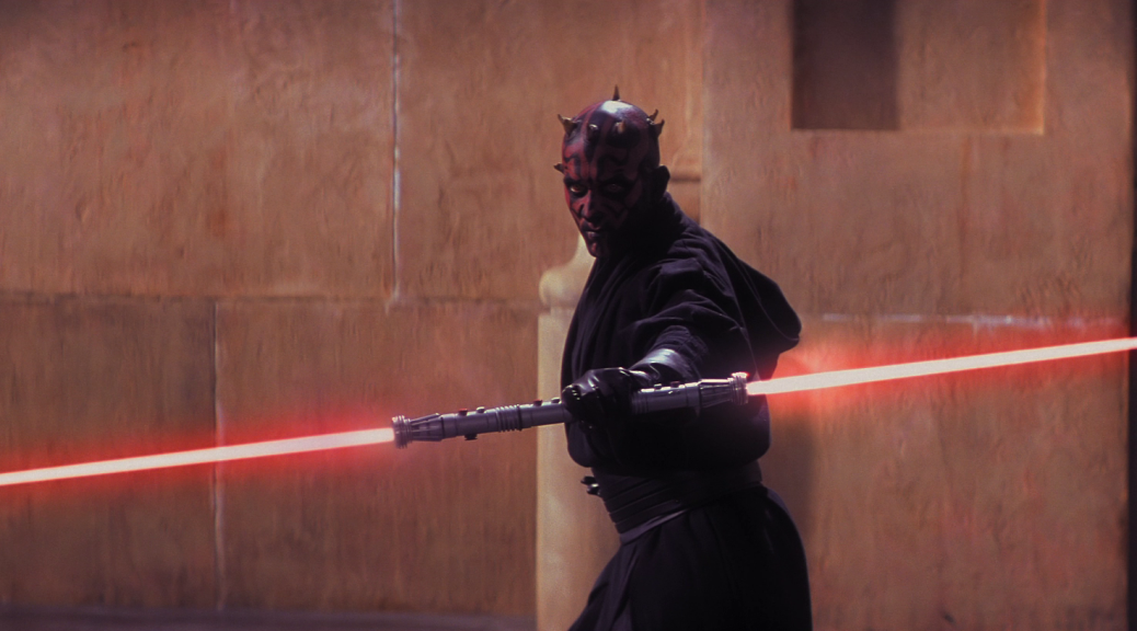 Darth Maul in Star Wars Episode I: The Phantom Menace