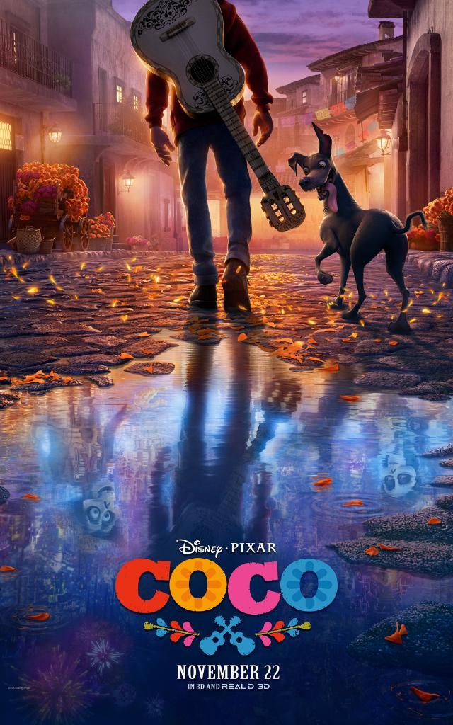 Poster for Disney Pixar's Coco