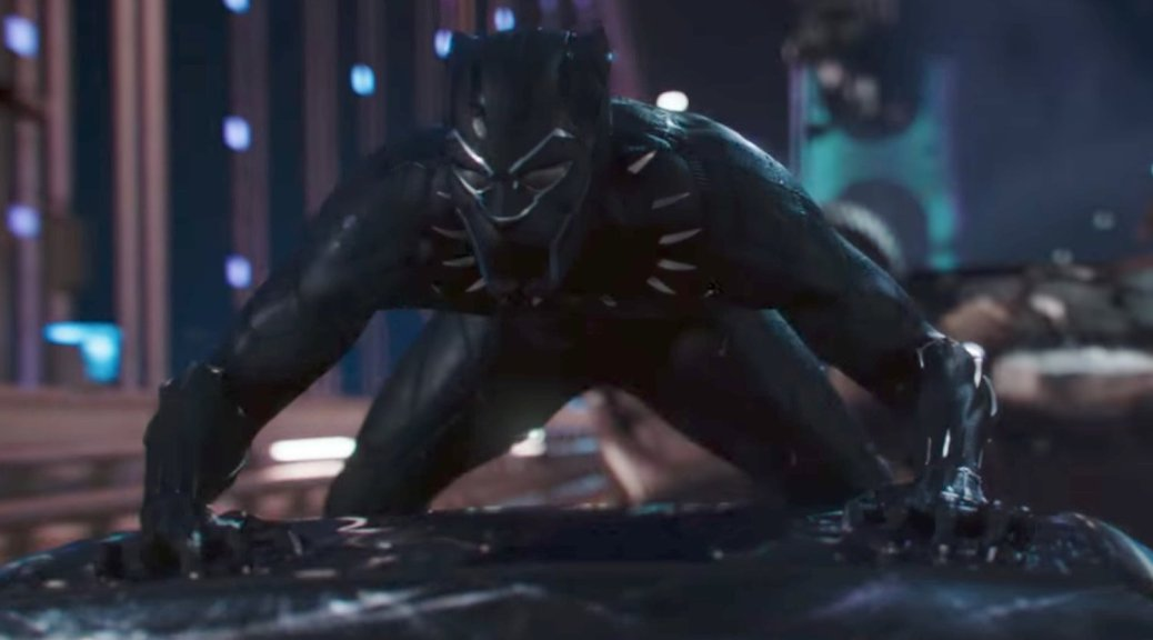 Chadwick Boseman in The Black Panther
