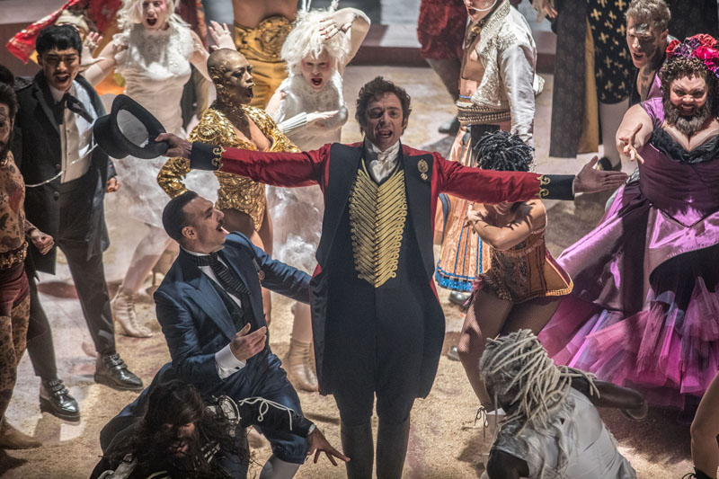 Hugh Jackman in The Greatest Showman