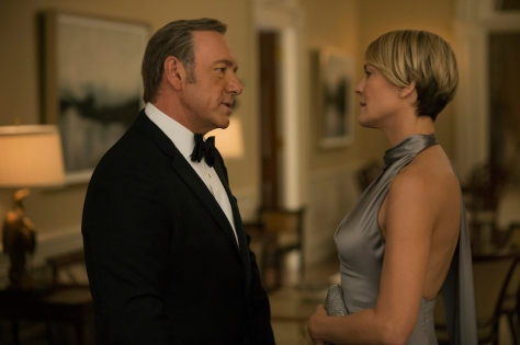 House of Cards, Frank Underwood, Claire Underwood, Netflix, Robin Wright, Kevin Spacey