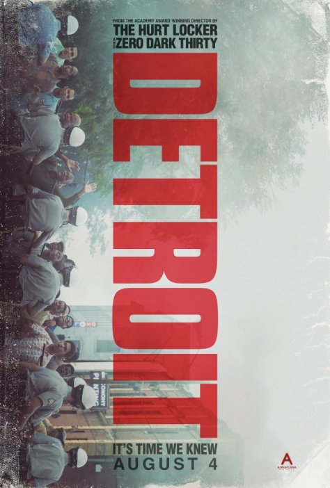 Theatrical Poster for Detroit