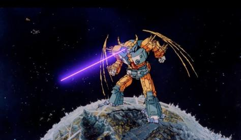 Unicron (Orson Welles) in Transformers: The Movie