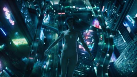 Scarlett Johansson, Ghost in the Shell