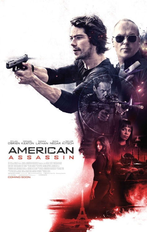 Dylan O'Brien and Michael Keaton in American Assassin