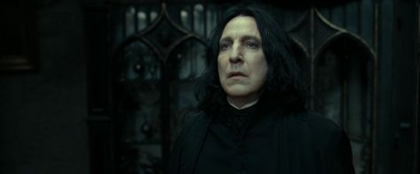 Alan Rickman in Harry Potter and the Deathly Hallows Part 2