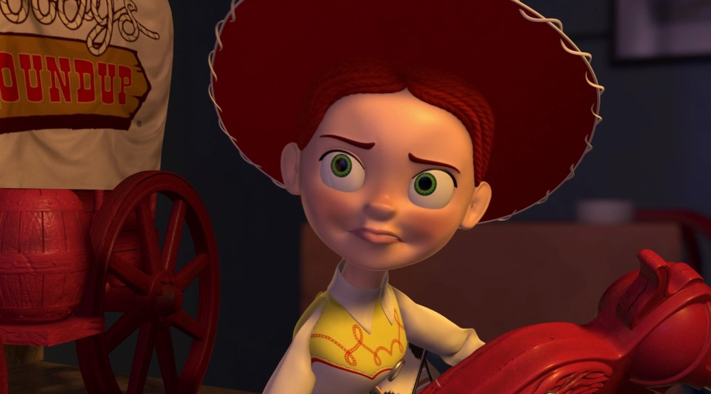 Joan Cusack as Jessie in Toy Story 2