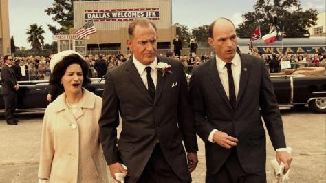 Woody Harrelson and Jennifer Jason Leigh in LBJ