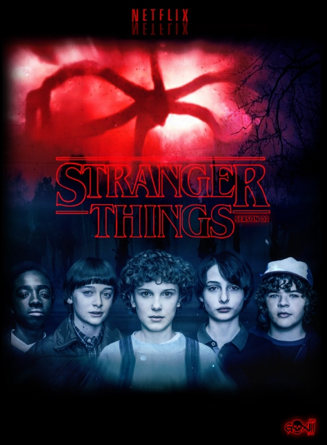 Stranger Things Season 2 Poster