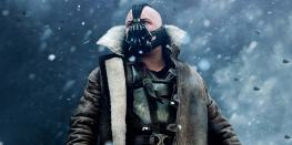 Tom Hardy as Bane in The Dark Knight Rises