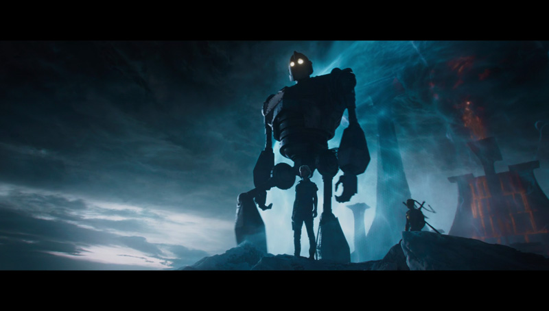 The Iron Giant in Ready Player One