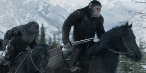 Andy Serkis in War for the Planet of the Apes