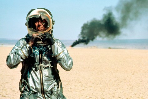 Sam Shepard as Chuck Yeager in The Right Stuff