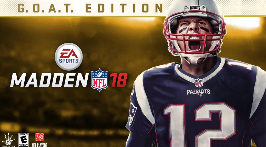 Tom Brady in Madden NFL 18