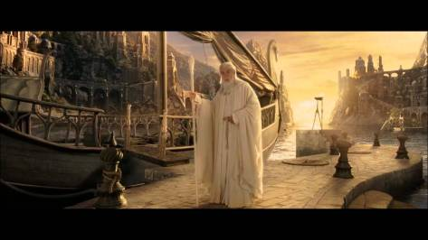 Ian McKellen in The Lord of the RIngs: The Return of the King