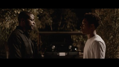 Dule Hill and Jacob Lattimore in Sleight