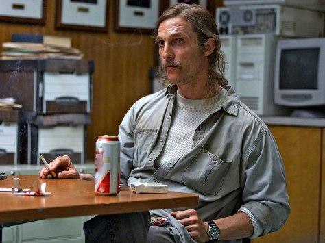 Matthew McConaughey in True Detective Season One