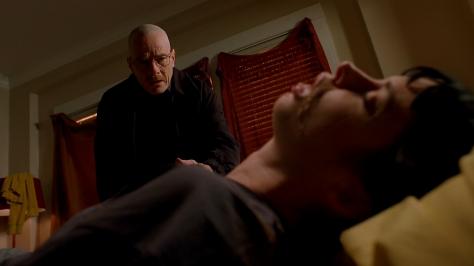 Bryan Cranston and Krysten Ritter in Breaking Bad Season 2