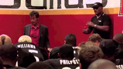 Al Pacino and Jim Brown in Any Given Sunday